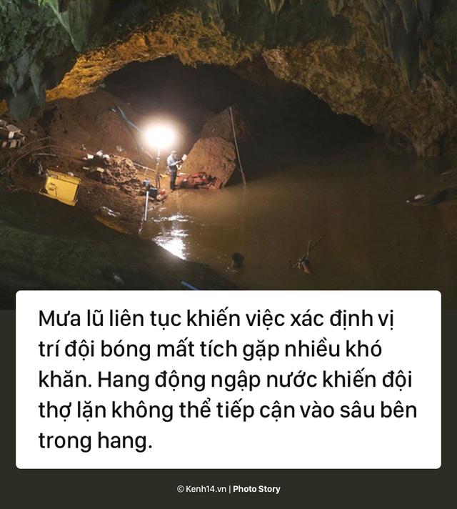 Những khó khăn chồng chất trong suốt nửa tháng giải cứu đội bóng Thái Lan - Ảnh 5.