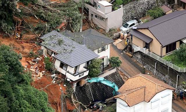 Mưa lũ, lở đất tại Nhật Bản: Ít nhất 44 người thiệt mạng - Ảnh 9.