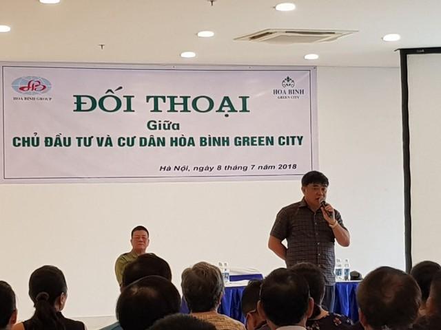 """Sau công văn hỏa tốc của Hà Nội và cuộc gặp bất ngờ của đại gia """"Đường bia"""", cư dân Hòa Bình Green City mong sớm có sổ đỏ - Ảnh 3."""