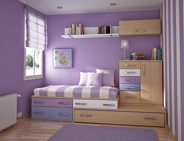 Ý tưởng thiết kế tuyệt vời cho phòng ngủ nhỏ hẹp - Ảnh 3.
