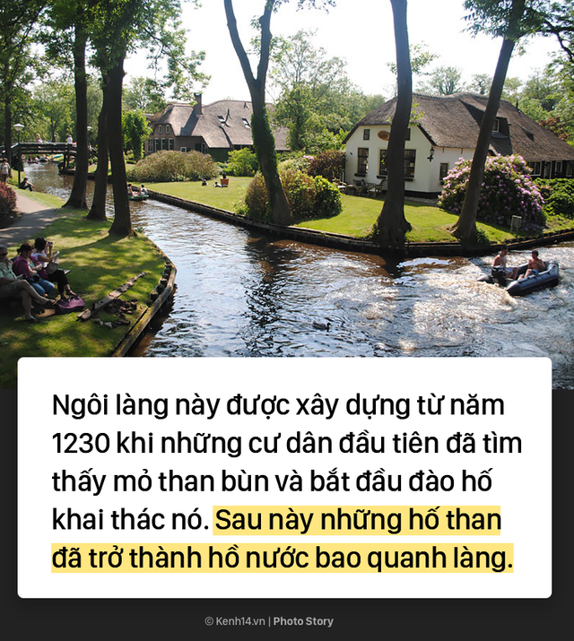 Ngôi làng chẳng có đường ô tô xe máy chỉ được di chuyển bằng thuyền - Ảnh 4.