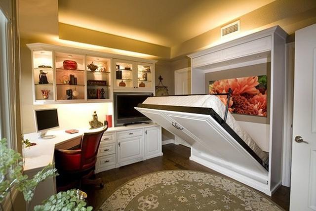 Ý tưởng thiết kế tuyệt vời cho phòng ngủ nhỏ hẹp - Ảnh 8.