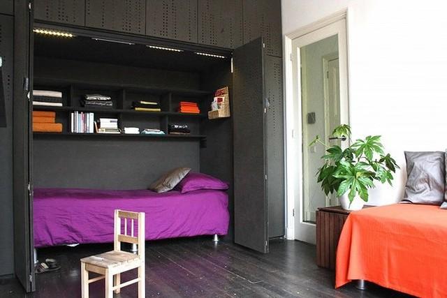 Ý tưởng thiết kế tuyệt vời cho phòng ngủ nhỏ hẹp - Ảnh 10.