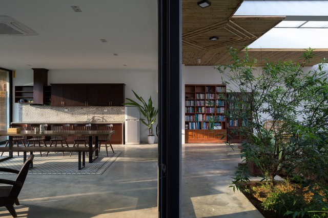 """Cận cảnh căn nhà cấp 4 """"đẹp hơn biệt thự"""" ở ngoại thành Hà Nội được báo Tây khen ngợi - Ảnh 10."""