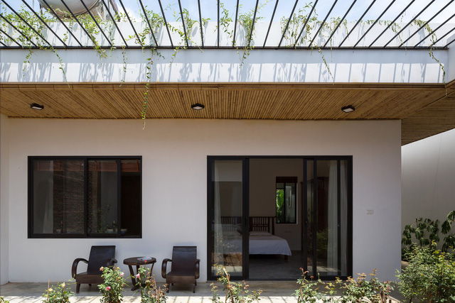 """Cận cảnh căn nhà cấp 4 """"đẹp hơn biệt thự"""" ở ngoại thành Hà Nội được báo Tây khen ngợi - Ảnh 11."""
