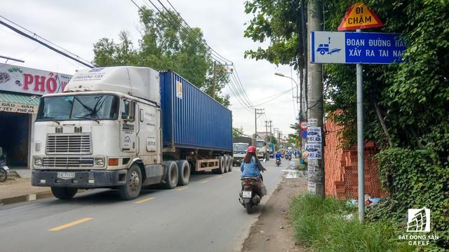 Cận cảnh dự án tuyến 1 vài con phố huyết mạch khu Đông Sài Gòn được mở rộng từ 7m lên 30m - Ảnh 8.