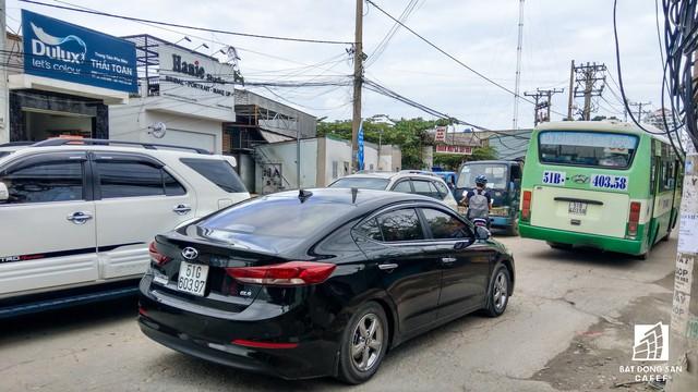 Cận cảnh dự án tuyến 1 vài con phố huyết mạch khu Đông Sài Gòn được mở rộng từ 7m lên 30m - Ảnh 16.