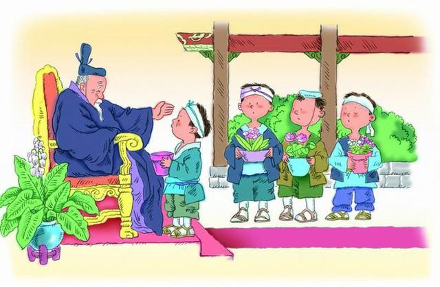 Mang chậu cây không nảy mầm đến gặp vua, cậu bé bất ngờ được chọn làm người kế vị ngôi báu - Ảnh 2.
