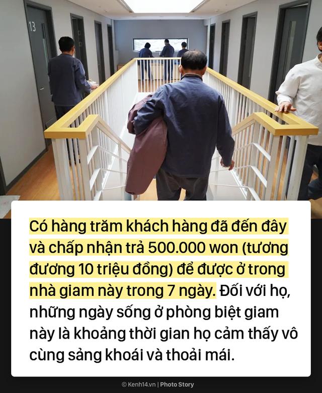 Hàn Quốc: Bỏ ra cả chục triệu đồng để được đi tù tránh xa cuộc sống bận rộn - Ảnh 3.