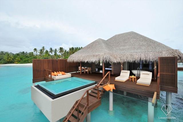 Điểm tên 5 biệt thự nổi trên mặt nước hấp dẫn nhất ở thiên đường hạ giới Maldives - Ảnh 1.