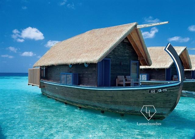 Điểm tên 5 biệt thự nổi trên mặt nước hấp dẫn nhất ở thiên đường hạ giới Maldives - Ảnh 6.