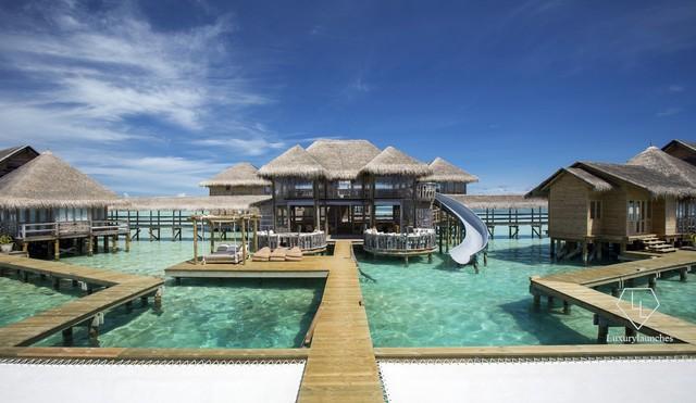 Điểm tên 5 biệt thự nổi trên mặt nước hấp dẫn nhất ở thiên đường hạ giới Maldives - Ảnh 9.