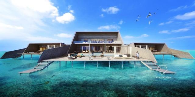 Điểm tên 5 biệt thự nổi trên mặt nước hấp dẫn nhất ở thiên đường hạ giới Maldives - Ảnh 7.