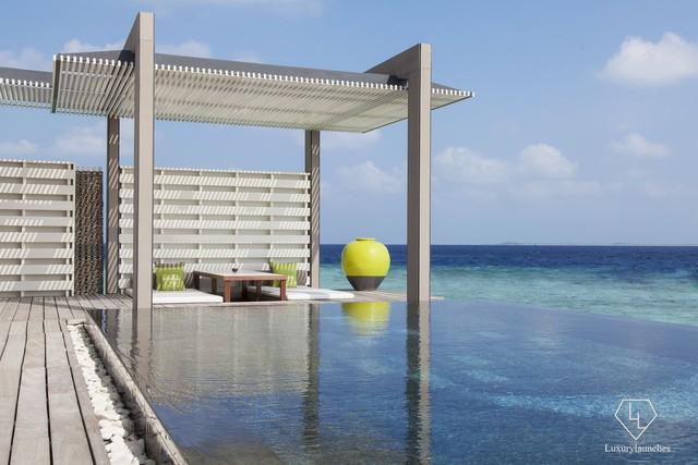 Điểm tên 5 biệt thự nổi trên mặt nước hấp dẫn nhất ở thiên đường hạ giới Maldives - Ảnh 4.