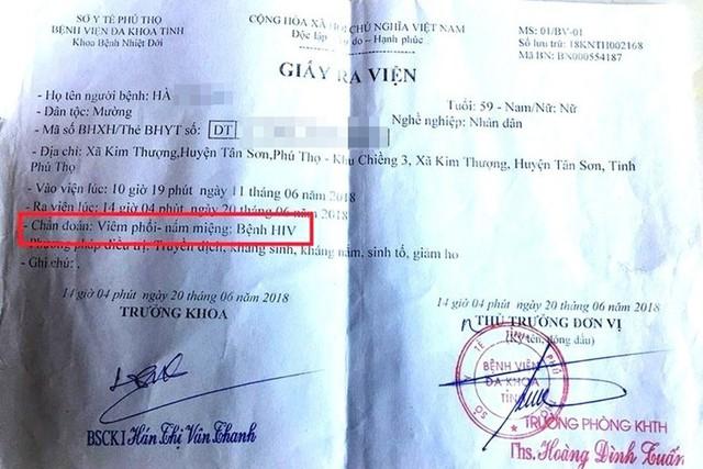 Nóng: Bộ Y tế vào cuộc vụ nhiều người nhiễm HIV nghi do bị bác sĩ dùng chung kim tiêm ở Phú Thọ - Ảnh 2.