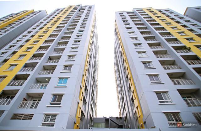 Chung cư Carina đổi màu áo từ xanh sang vàng, cư dân vẫn chưa thể về nhà sau vụ cháy thảm khốc 13 người chết - Ảnh 11.