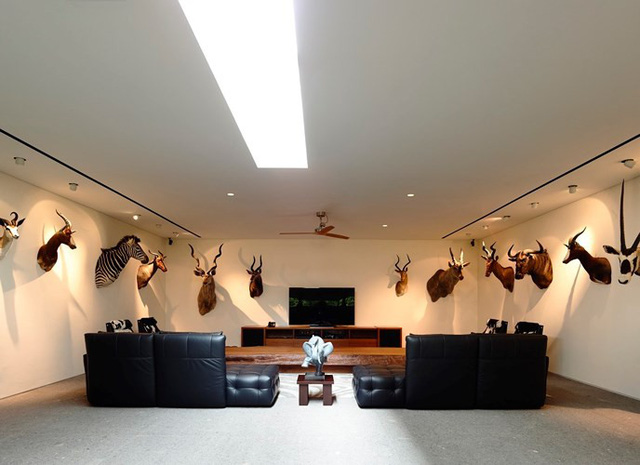 Biệt thự trang trí bằng gỗ ấn tượng - Ảnh 16.