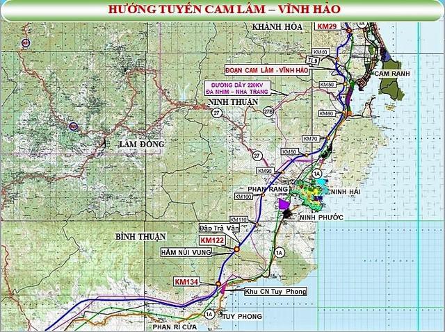 Hơn 18.000 tỷ đồng làm tuyến cao tốc Cam Lâm - Vĩnh Hảo - Ảnh 1.
