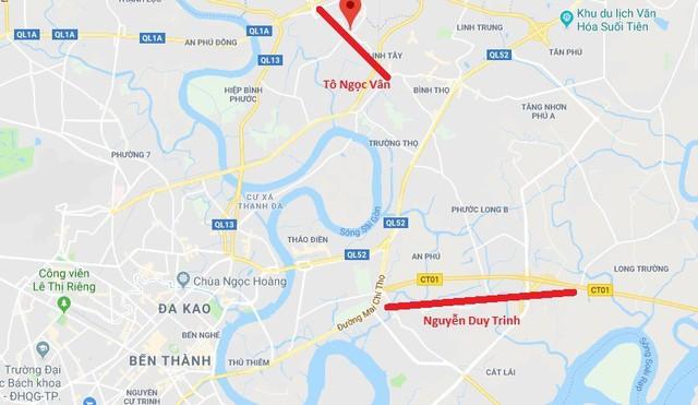 Sắp xây mới nhiều tuyến đường ở khu Đông, hàng vạn người dân Sài Gòn sẽ được hưởng lợi - Ảnh 2.