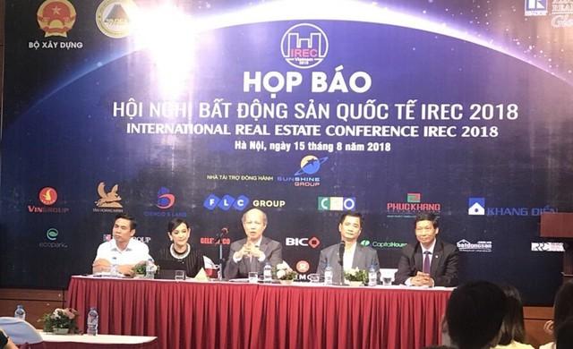 Việt Nam lần đầu tiên đăng cai tổ chức Hội nghị Bất động sản Quốc tế - IREC 2018 - Ảnh 1.