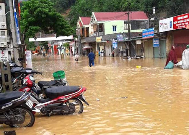 Toàn cảnh mưa lũ tại Nghệ An nhìn từ trên cao - Ảnh 10.