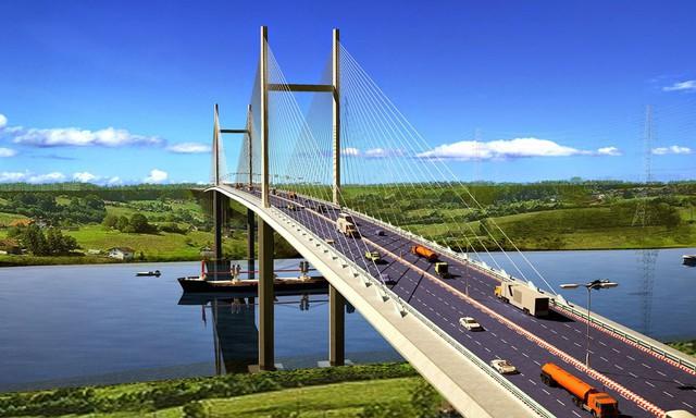 Đề xuất xây cầu 5.700 tỷ nối Nhơn Trạch có Tp.HCM, nhà đất xung quanh bỗng dưng tăng nóng - Ảnh 1.