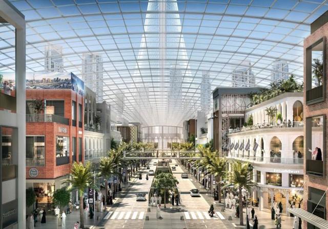 Dubai tiếp tục phá kỉ lục về trung tâm mua sắm lớn nhất thế giới - Ảnh 1.