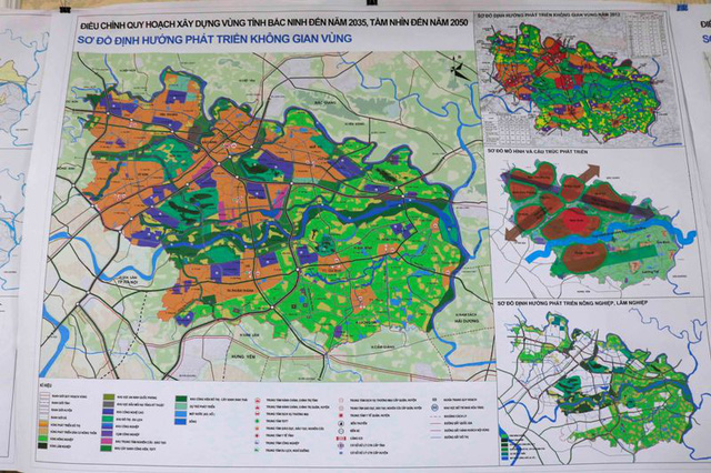 Bắc Ninh phát triển chùm đô thị hướng tâm - Ảnh 1.