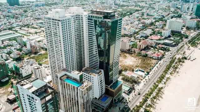 Cận cảnh Tổ hợp khách sạn Mường Thanh Đà Nẵng vừa bị phát hiện thêm nhiều sai phạm - Ảnh 1.