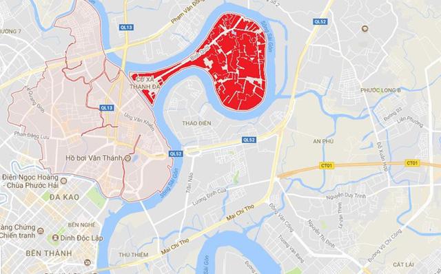 Cận cảnh siêu dự án Bình Quới - Thanh Đa giữa thành thị TP.HCM tân tiến sau 26 năm quy hoạch treo - Ảnh 1.
