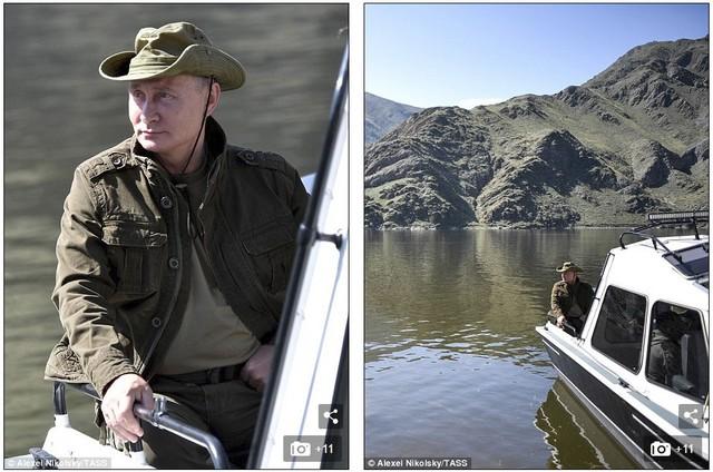 Tổng thống Putin lại gây sốt với chuyến nghỉ hè ở vùng hoang vu Siberia - Ảnh 4.