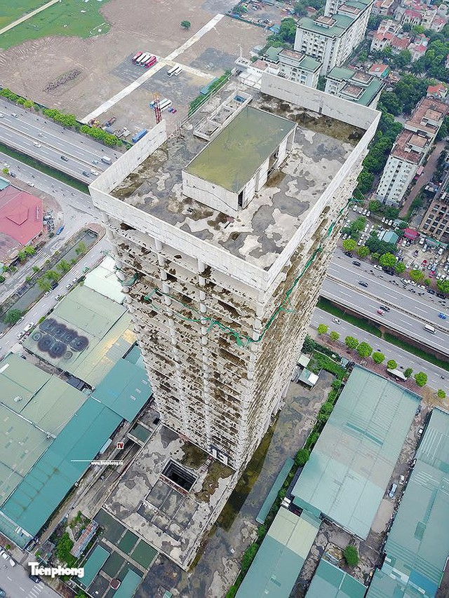 Hẩm hiu 1 số dự án tháp nghìn tỷ giữa Thủ đô - Ảnh 4.