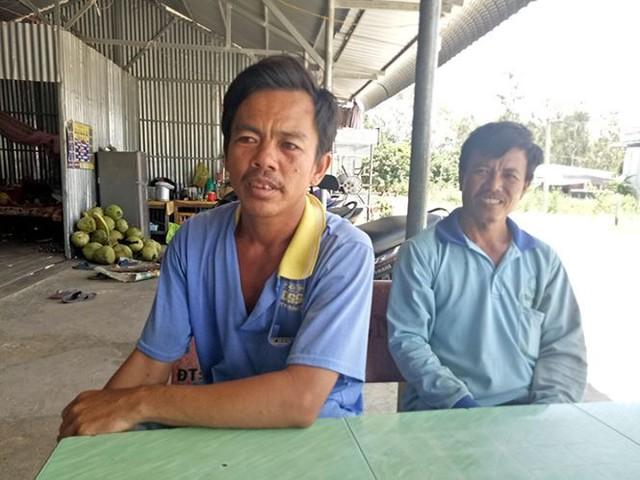 Vỡ đê bao ở An Giang khiến hơn trăm ha lúa chìm trong nước - Ảnh 2.