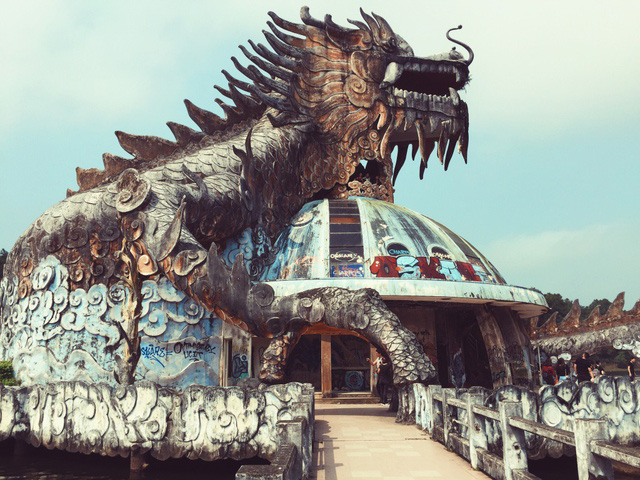 Cận cảnh dự án công viên lạ 15 năm bỏ hoang ở Huế bỗng dưng hút khách nước ngoài - Ảnh 16.