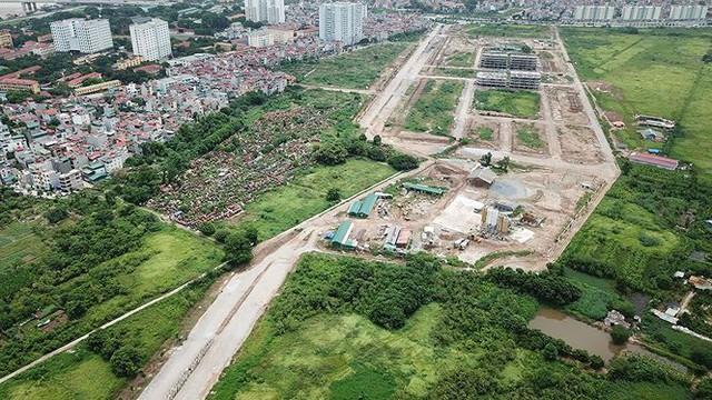 Ngổn ngang tuyến đường đổi bằng 180 ha đất vàng ở Hà Nội   - Ảnh 10.