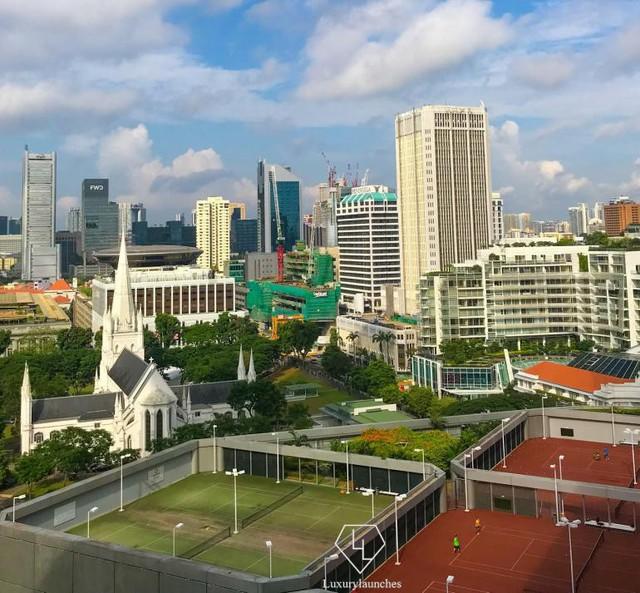 Đến với khách sạn cao cấp Fairmont, bạn có thể thu trọn Singapore trong tầm mắt - Ảnh 3.