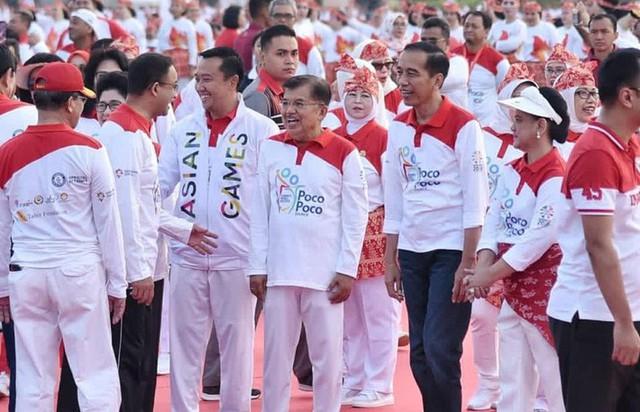 Indonesia thiết lập kỷ lục guiness khi tổ chức khai mạc Asiad - Ảnh 3.