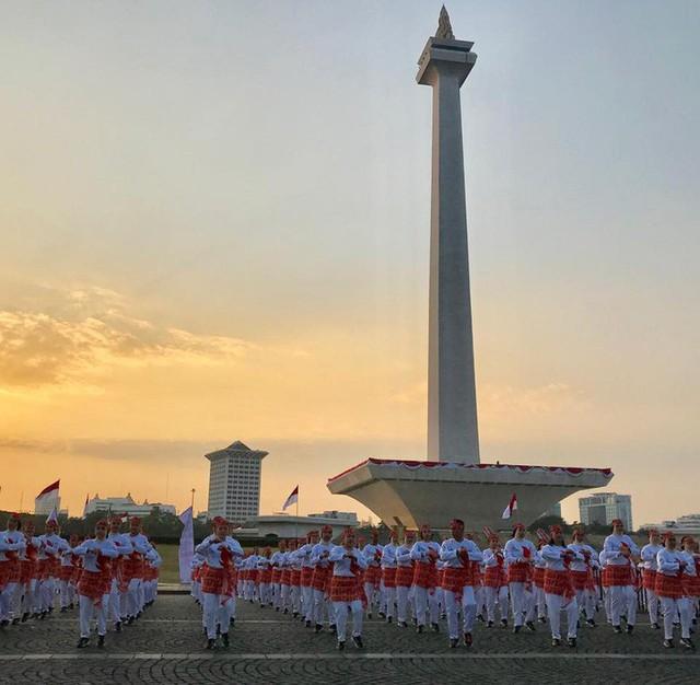Indonesia thiết lập kỷ lục guiness khi tổ chức khai mạc Asiad - Ảnh 8.