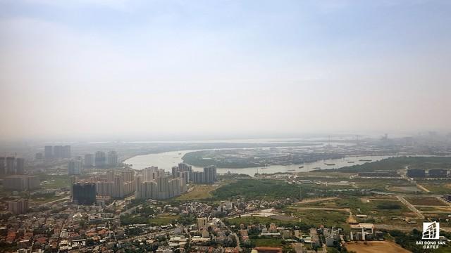Toàn cảnh đô thị trung tâm Sài Gòn nhìn từ đỉnh tòa nhà cao nhất Việt Nam - Ảnh 7.