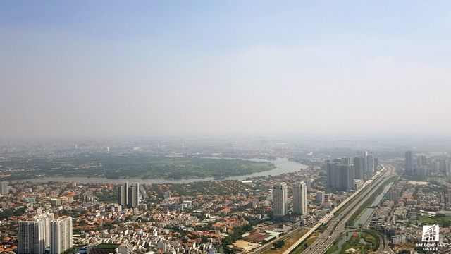Toàn cảnh thành phố trọng điểm Sài Gòn nhìn từ đỉnh tòa nhà cao nhất Việt Nam - Ảnh 8.