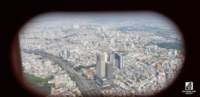 Toàn cảnh đô thị trung tâm Sài Gòn nhìn từ đỉnh tòa nhà cao nhất Việt Nam - Ảnh 24.