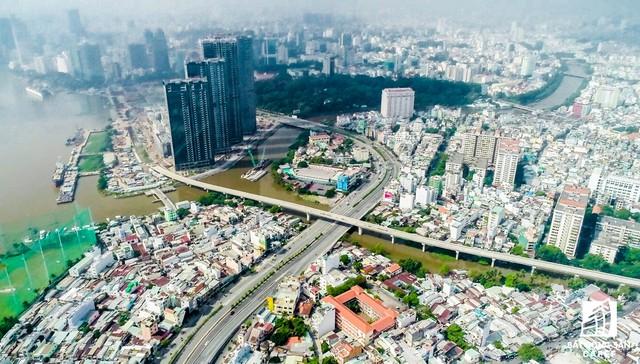 Toàn cảnh thành phố trọng điểm Sài Gòn nhìn từ đỉnh tòa nhà cao nhất Việt Nam - Ảnh 18.