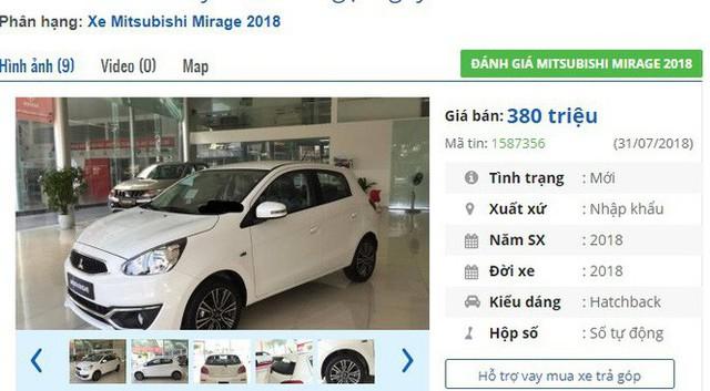 Loạt ô tô Mitsubishi nhập thuế 0% giảm giá mạnh tại Việt Nam, rẻ nhất 380 triệu đồng/chiếc - Ảnh 1.