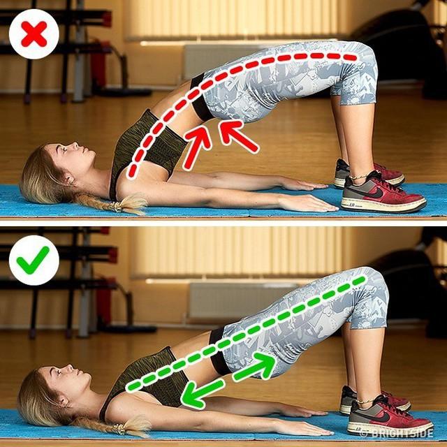 Đây là những động tác tập luyện rất phổ biến nhưng cũng rất nhiều người tập sai gây nguy hại cho sức khỏe - Ảnh 1.
