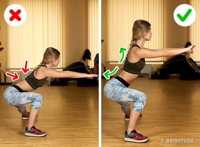 Đây là những động tác tập luyện rất phổ biến nhưng cũng rất nhiều người tập sai gây nguy hại cho sức khỏe - Ảnh 2.