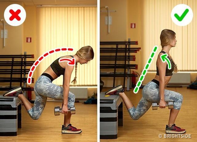 Đây là những động tác tập luyện rất phổ biến nhưng cũng rất nhiều người tập sai gây nguy hại cho sức khỏe - Ảnh 11.