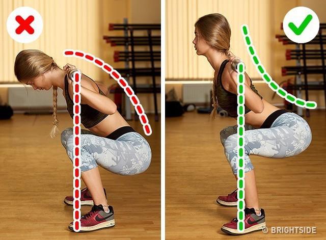 Đây là những động tác tập luyện rất phổ biến nhưng cũng rất nhiều người tập sai gây nguy hại cho sức khỏe - Ảnh 4.