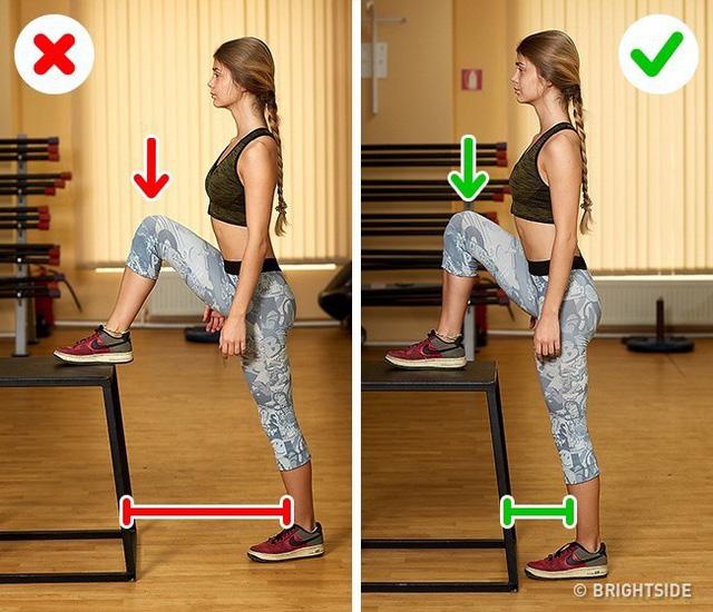 Đây là những động tác tập luyện rất phổ biến nhưng cũng rất nhiều người tập sai gây nguy hại cho sức khỏe - Ảnh 8.