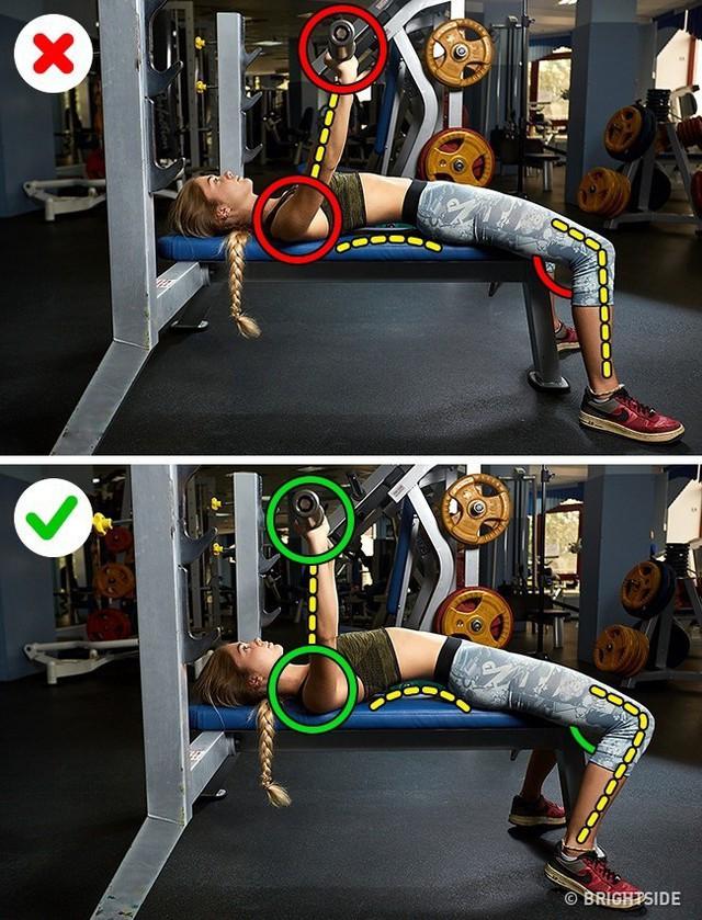 Đây là những động tác tập luyện rất phổ biến nhưng cũng rất nhiều người tập sai gây nguy hại cho sức khỏe - Ảnh 9.