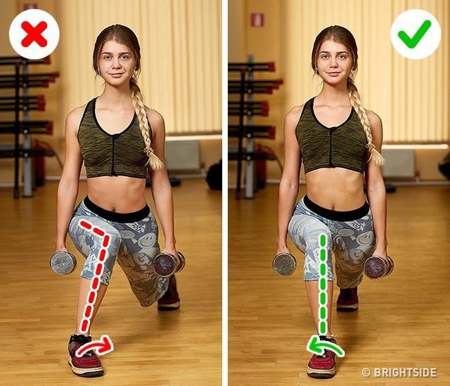 Đây là những động tác tập luyện rất phổ biến nhưng cũng rất nhiều người tập sai gây nguy hại cho sức khỏe - Ảnh 10.